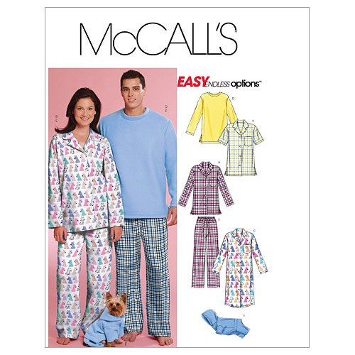 Mccall Pattern McCall's Patterns M5992 Misses'/Men's/Teen...