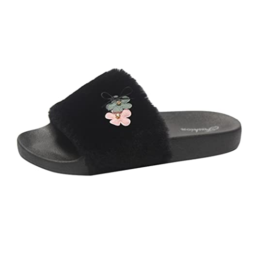 6632452f3 Image Unavailable. Image not available for. Color: Hemlock Women Girls Flat Slippers  Flip Flop Sandals ...