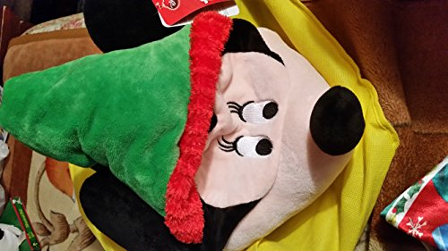 Disney Minnie Mouse Holiday Hat Sings We Wish You a Merry Christmas and Moves Hat Apex 22