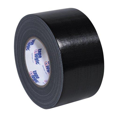 """Tape Logic T988100B3PK, 10.0 Mil Duct Tape, 3"""" x 60 yd, Blac"""