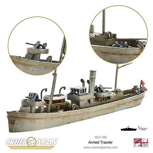 Cruel Seas Warlord Games, Armed Trawler by Cruel Seas