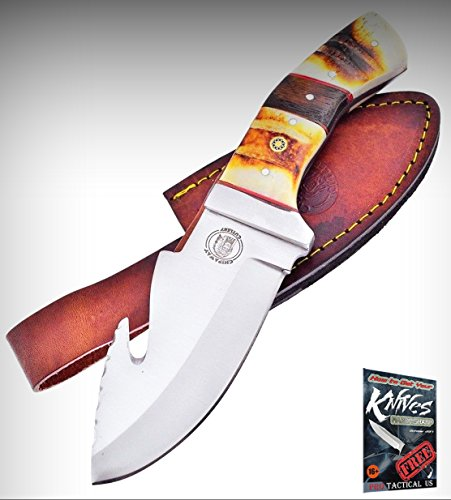 (Frost Cutlery FCW1611 Chipaway Bear Creek Fixed Limited Elite Knife Guthook Blade + free eBook by ProTactical'US)