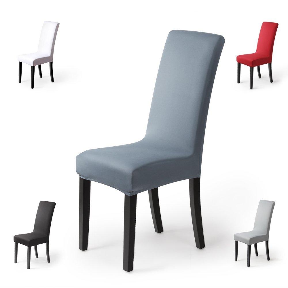 Fundas para sillas pack de 2 fundas sillas comedor fundas elásticas ...