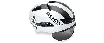 Rudy Project Boost 01 Aero de carretera y triatlón ciclismo casco con óptico de placa escudo