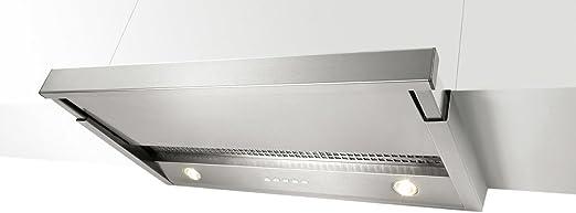 NOVY 650 Telescópica o extraplana Acero inoxidable 420m³/h - Campana (420 m³/h, Recirculación, 36 dB, 41 dB, 46 dB, 50 dB): Amazon.es: Hogar
