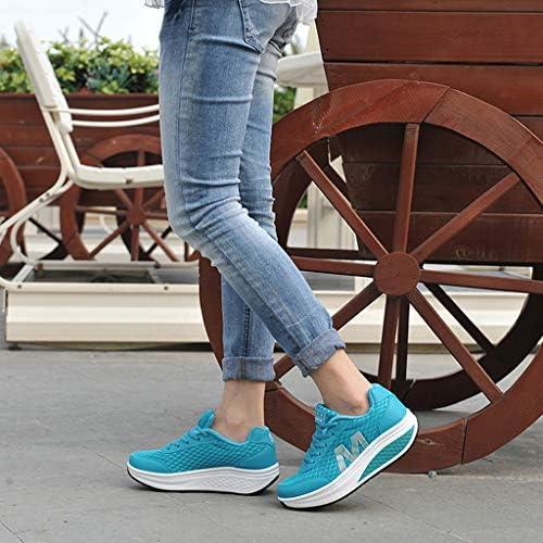 AG&T Plataforma de Malla de Las Mujeres Zapatos Mocasines Aptitud ...