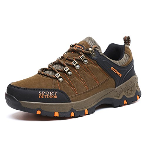 marrón XIGUAFR de bajo botas adulto caño Unisex wCxYS