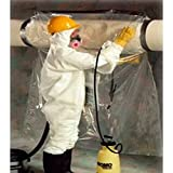 TheSafetyHouse 44' x 60' Complete Glovebag System, Continuous Glove Bags 25/roll