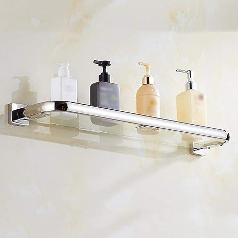 CCSLE Estante Cuarto de baño 304 Acero inoxidable Baño sin ...