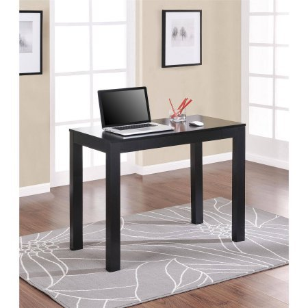 Mainstays Parsons Desk with Drawer,Black
