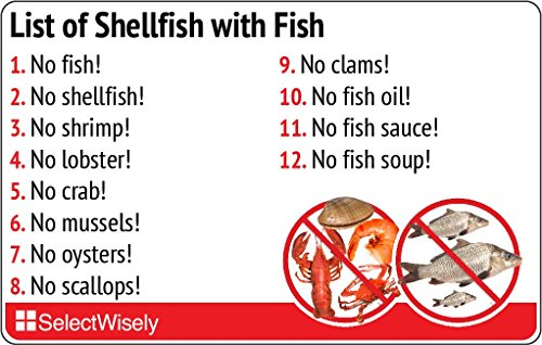 List of Shellfish with Fish - Translated in Dutch or any of 36 languages by SelectWisely