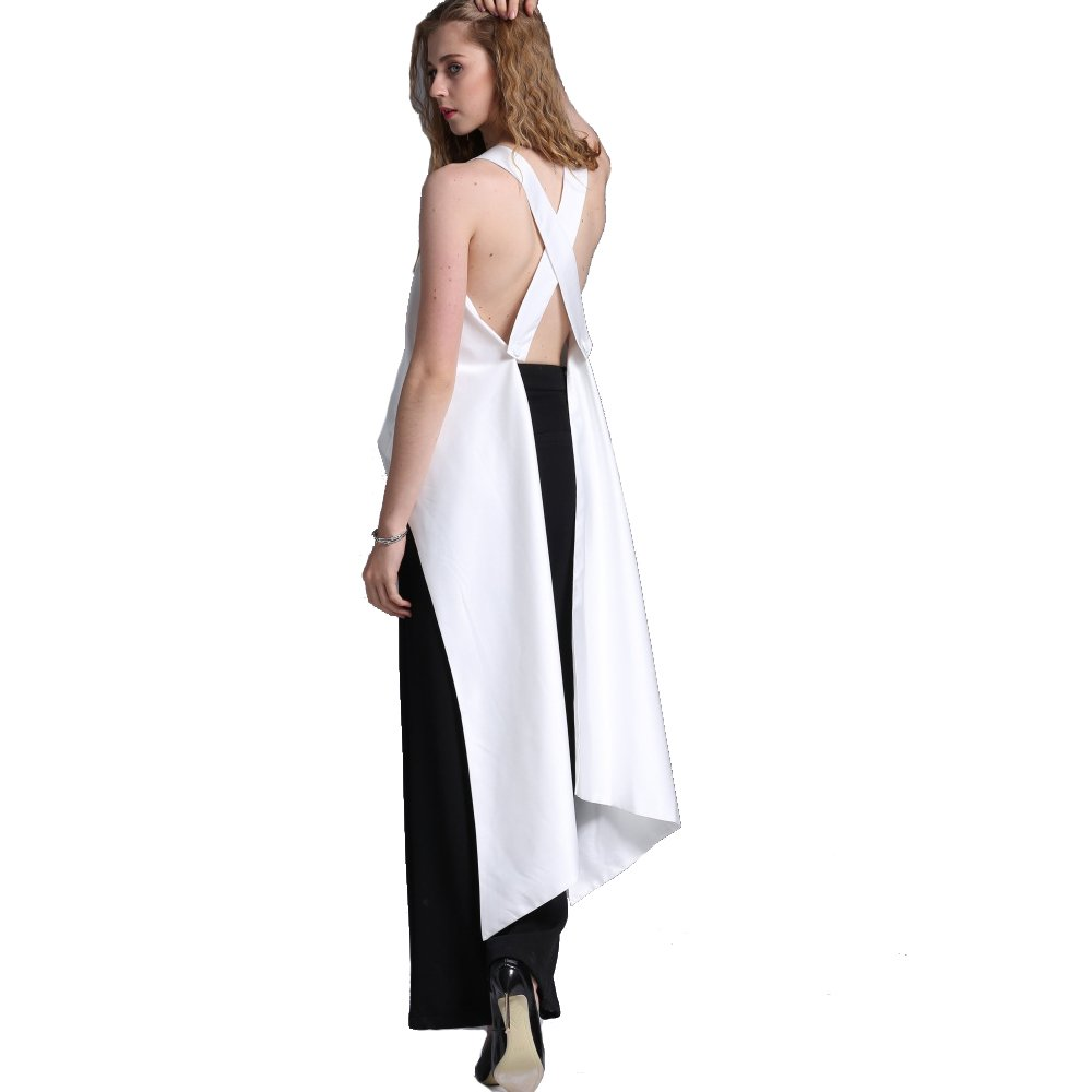 GETSRING Women Sexy Tops Vest Sexy Vests Tank Top Backless Tops White Fashion Women Halloween Party Christmas Gift