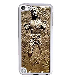 Han Solo White Hardshell Case for iPod Touch 5G iTouch 5th Generation