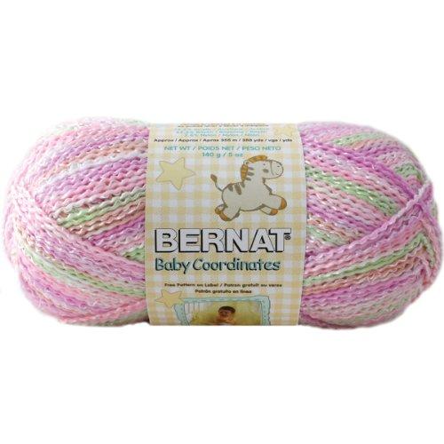 Bernat Baby Coordinates Yarn - Tiny Tulips Ombre Yarn Ombres Tiny Tulips