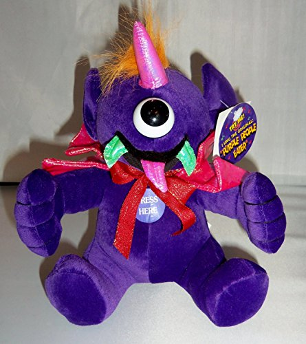 Purple Monster Plush 9