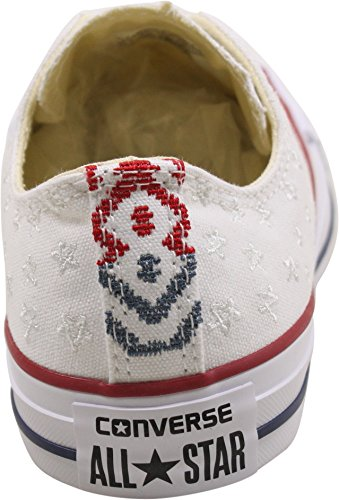 Casino 5 White Star Low White Sneakers All Chuck Converse Womens Taylor Womens wqnpPgz87