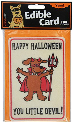 Crunchkins Crunch Edible Card, Happy Halloween Little Devil -