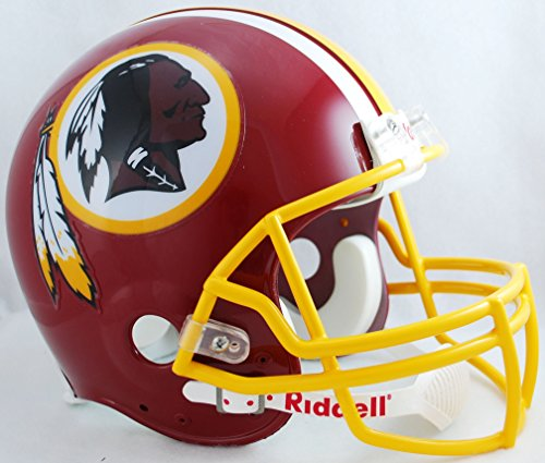 NFL Washington Redskins Helmet Replica Full Size VSR4 Style 1978-2003 Throwback, One Size, Team Color