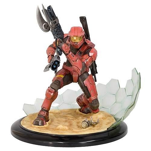- Halo 3 Kotobukiya ArtFX 11 Inch Statue Figure Field of Battle Red Spartan