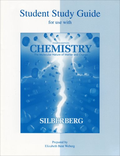 Student Study Guide to accompany Chemistry
