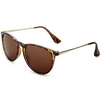 Amazon.com: weluk Wayfarer anteojos de sol polarizadas Mujer ...