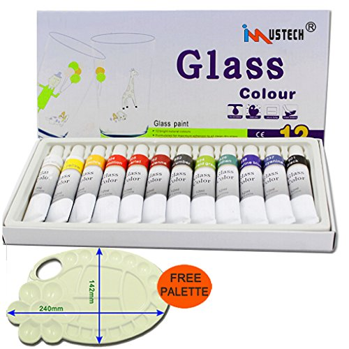 imustech-glass-paint-set12-cols-glass-paint-kit-art-paints-with-palette-craft-paint-set-watercolors-