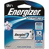 100 x 9 Volt Energizer Ultimate Lithium Batteries (L522)