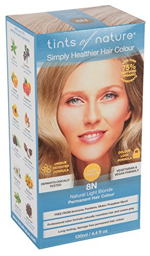 Tints of Nature Permanenent Colour - 4.4 fl oz - 12 Pack (8N Natural Light Blonde) by Tints of Nature