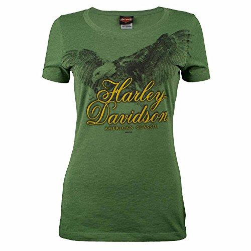 Sturgis Harley Davidson (Sturgis Harley-Davidson Women's Soar Green Short Sleeve T-Shirt (Small))