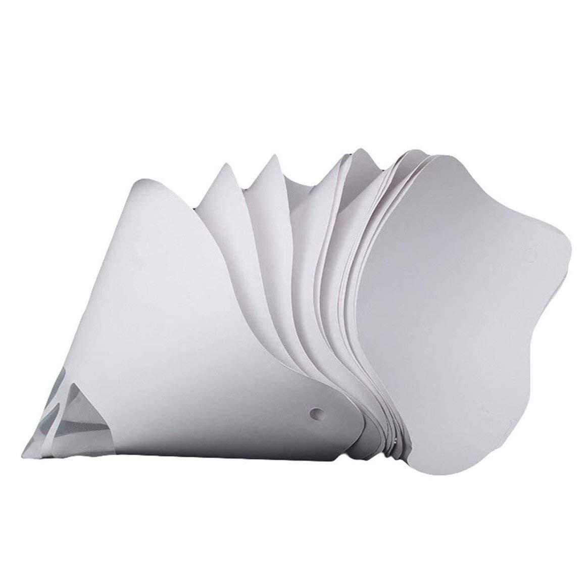 Funnyrunstore Paint Spray Gun Filter Papel Filtro de papel grueso ...