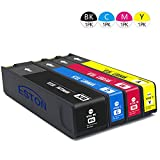 ESTON 972X High Yield Ink Cartridges Black Cyan Magenta Yellow 972 PageWide Cartridges F6T84AN LOR98AN LOSO1AN LOSO4AN for PageWide pro MFP 577dw/z Managed P55250dw