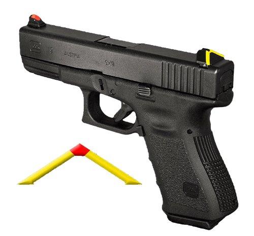 Advantage Tactical Sight GLOCK - ATS SIGHT - ALL MODELS - ALL GENERATIONS & GLOCK 42 - WITH FIREFLY NIGHT SIGHT UPGRADE