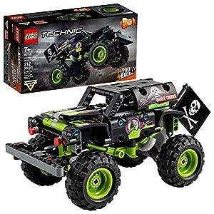 LEGO Technic Monster Jam Grave Digger 42118 Model Building Kit for Boys and Girls Who Love Monster Truck Toys, New 2021…
