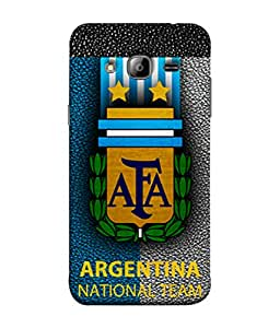 ColorKing Football Argentina 06 Multi Color shell case cover for Samsung On7