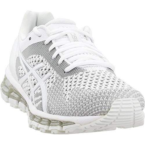 ASICS Women's Gel-Quantum 360 3 Running Shoe,White/Snow/Silver,US 9 B