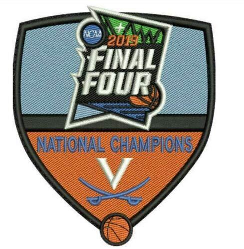 Finals Champions Patch - 2019 Men's Final Four Champions Patch Cavaliers Patch BASKETBALL Championship Minneapolis