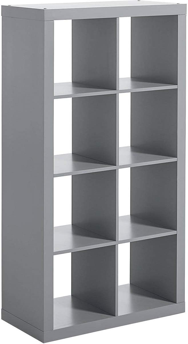 Better Homes and Gardens 8-Cube Organizer, Gray