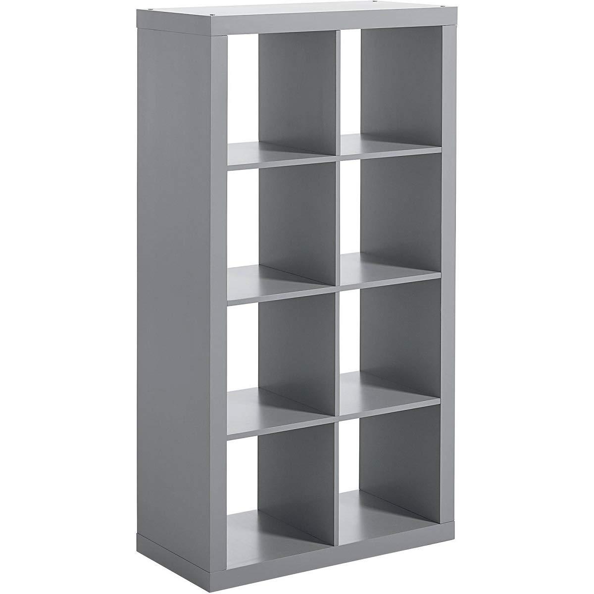Versatile Indoor Decor 12 Cube Storage Organizer with Toilet Bowl Better Homes /& Gardens Stylistic Espresso