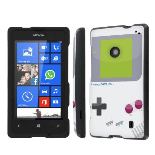 NakedShield Nokia Lumia 635 (Game Boy) Total Hard Armor Protection LifeStyle Phone Case