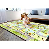 Fisher Price Playmat Double Side-Large Size 150x200x1.0 cm PE