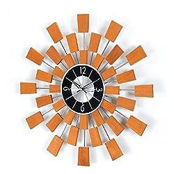 Stilnovo Pixel Clock, Solid, Wood