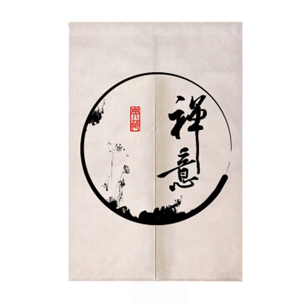 Black Temptation Chinois Traditionnel Style Japonais Doorway Noren Rideau Rideau Chambre, 04