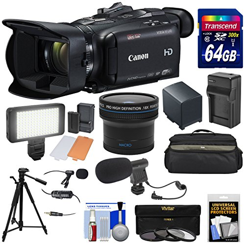 Canon Vixia HF G40 Wi-Fi 1080p HD Digital Video Camcorder +