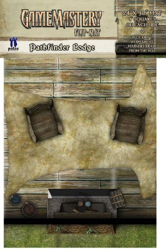 GameMastery Flip-Mat: Pathfinder Lodge (Gamemastery Flip Map)