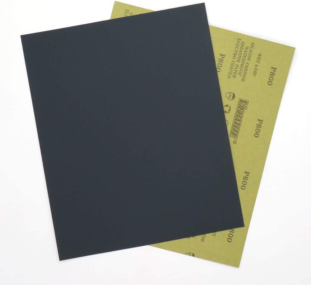 240 Grit Dry Wet Sand Paper Sandpaper Sheets for Wood Furniture Finishing,Metal Sanding and Automotive Polishing,10 -Sheet 9 x 11 Inch,Silicon Carbide