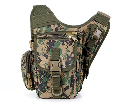 F@Esercito del ventilatore esterno in nylon impermeabile Camo tactical borse, borsa fotocamera zaino di equitazione all'aperto