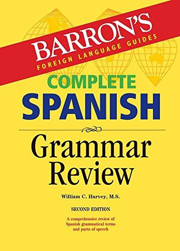 Complete Spanish Grammar Review (Barron