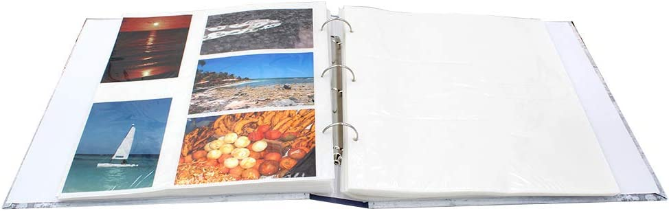 CPC Lot de 2 classeurs Photos Swing BL-GR /à Pochettes Blanches pour 400 Photos 10x15 cm