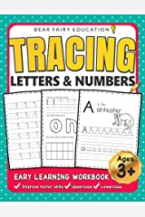 Tracing Letters & Numbers, Early Learning Workbook, Ages 3 4 5: Alphabet Tracing book, Letter Tracing, Handwriting workbook for kids, Writing Workbook Paperback