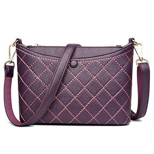 Viola Moda Casuale Shopping Borsa Messenger Bag ZHaSxq
